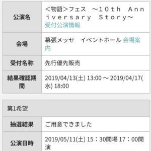 物語フェスやら2019年春調査  1-3月期終了アニメアンケート