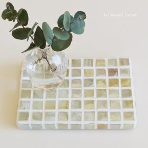 心落ち着く「はちみつ色」のガラスタイル