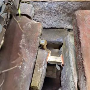 被災後井寺古墳石室現状の3Dコンテンツが公開されてます