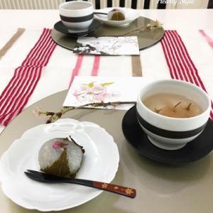 桜尽くしのティータイム~お家カフェ♪~