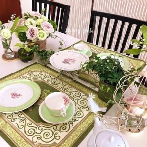 ミュゲの日のティーテーブル~幸せの白い花を求めて~