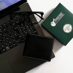 バレンタインプレゼントにぴったりなBRITISH GREENの二つ折り財布。