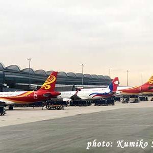 香港航空 → 4/30まで予約 → 搭乗便変更手数料無料。