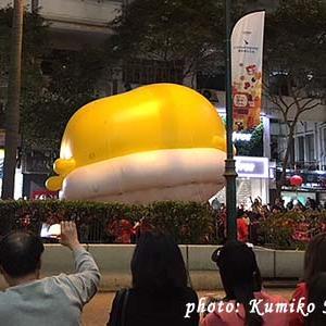 香港:カウントダウン花火と旧正ナイトパレード開催なし