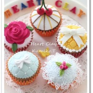 可愛いカップケーキ♡パーソナルスタイルギフトコース体験レッスン作品のご紹介♪