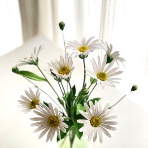クレイのマーガレット沢山咲かせて下さいました♡生徒さん作品♪