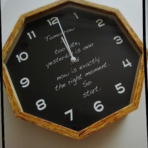 掛け時計新調♥️