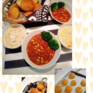先週の夕飯&塾の日ご飯