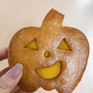 【食】ハロウィンのパンプキンクッキー