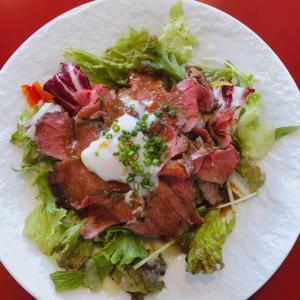 【食】肉LABOでローストビーフ丼