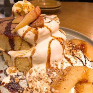 【食】アップルパンケーキとか