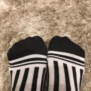 【Fashion】ストライプの靴下?