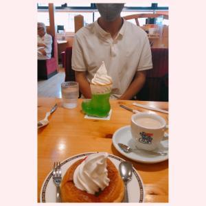 【食】星乃珈琲店で軽くお茶