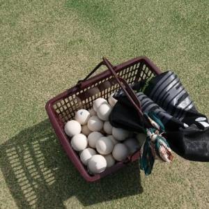 ソフトテニスでボールンバ。