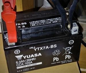 通勤快速君の新バッテリー^^v