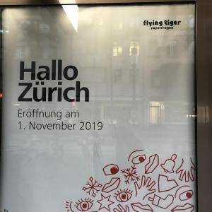 フライングタイガーがチューリッヒにオープンしましたよ。