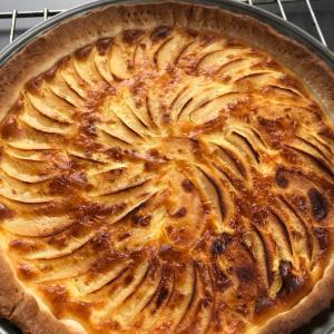 りんごタルト作ってみた。