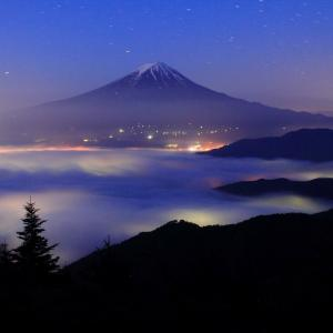 雲海の新道峠