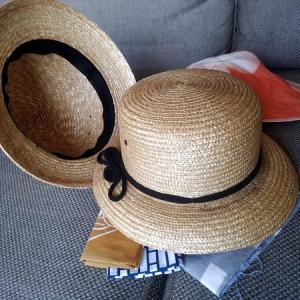 凧人(かいと)の大正帽 際物は用意して待つもの