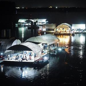 早くも夏の楽しみ 浜名湖雄踏たきや漁の灯り