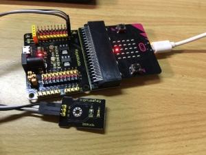 micro:bitを照度計にしてみる(その4)