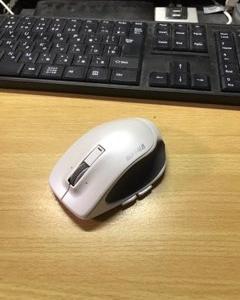 マウスの滑り止めゴムが溶けてきた件