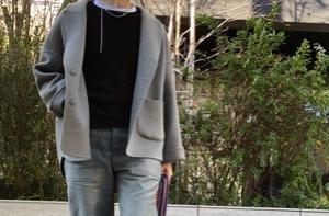 大草さんコラボのTシャツニット♡