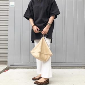 My コーデ♫コラボTシャツすみ黒✖︎ホワイトニットパンツ~