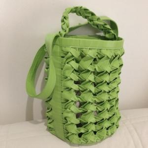職人さんの手編みバッグ。。。LUDLOW….