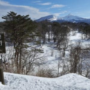 冬晴れの裏磐梯湖沼群
