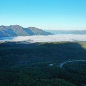 南会津地区を覆う雲海