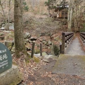 厳冬の山鶏滝 2021