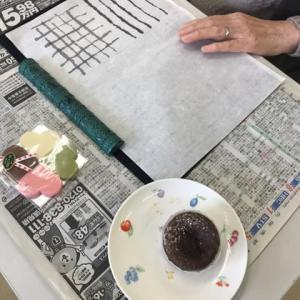 私の好きな洋菓子・絵手紙 壱