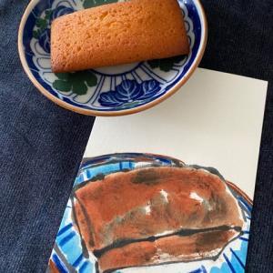 お菓子・絵手紙