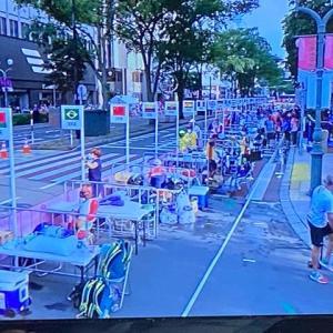 札幌の街中でオリンピック・競歩スタート!
