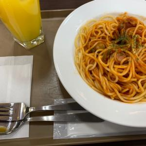 スパゲティをいただきながらψ(`∇´)ψ in 加古川市