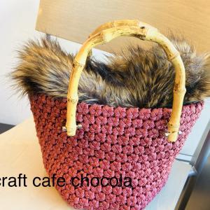 <予告>花結び編みの雑貨とバッグの短期講座