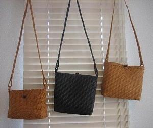 網代編みバッグ作りのポイント