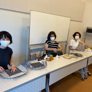 【武蔵境】1day講座かごとかごバッグ作りでした。