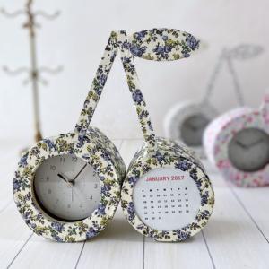 さくらんぼモチーフ・BB clock