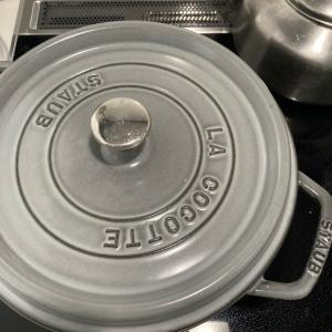 炊飯器を手放す為にストウブ炊飯練習中