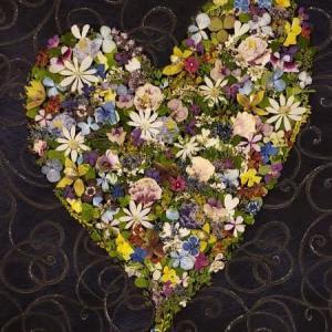 小花のハート