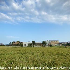 景色の中に!糸島の家。