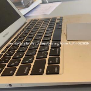 MacBookAIRが壊れた^ ^;