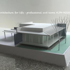 力の入ってる建築模型!
