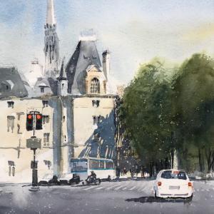デモンストレーションデー《パリの街角》-Demonstration Day-