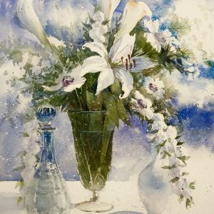 久しぶりに、花 - Draw flowers -