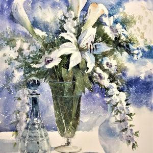 白い陶器やガラスの色《改訂・再掲》-White ceramic or glass color-