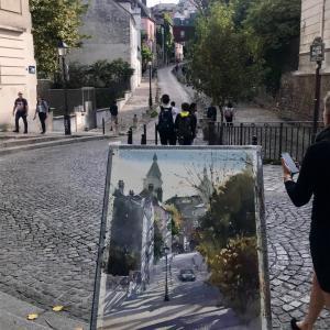 写真を下に描く心得 《改訂・再掲》- To paint from photos -