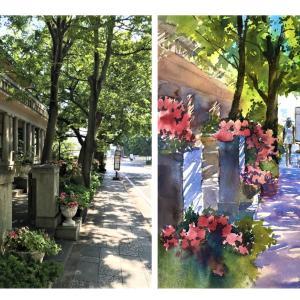 写真を下に描いた実例 - Examples based on a photo -
